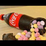 Cómo hacer una botella chocolate Coca-Cola
