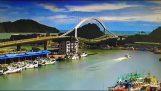 Tayvan'da Köprüsü çöküşü