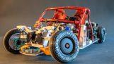 Simulation der tatsächlichen Montage auf einem ferngesteuerten Auto