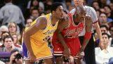 Kobe Bryant vs Michael Jordan (17/12/1997)