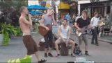Wonderful straat musici