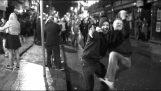 שבת בערב ברחובות של אירלנד
