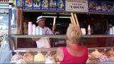 Nevhodné zmrzlina