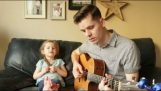"A dad and his daughter 4Vstroke sing ""You've Got a Friend In Me"""