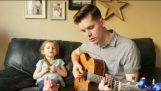 Ένας μπαμπάς και η 4χρονη κόρη του τραγουδούν το «You've Got a Friend In Me»