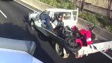El método más rápido para cargar la motocicleta