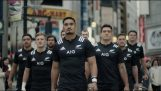 The rugby team of New Zealand saves passersby