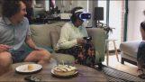 آثار الواقع الافتراضي :)
