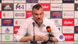Sarunas Jasikevicius journalist explains the important things in life