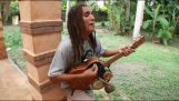 Utalentowany muzyk reggae