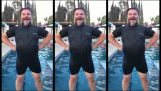 Ako sa dostať von z vody ako superhrdina