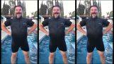 Πως να βγεις από το νερό σαν υπερήρωας