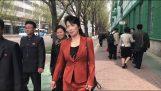 Λίγα λεπτά στο κέντρο της Πιονγιάνγκ (Βόρεια Κορέα)