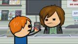 En la tienda de videojuegos