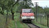 Ένα βαν μετατρέπεται σε τρένο
