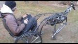 Візок з механічною конем