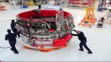How is Rolls-Royce assembles engines of airplanes