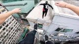 Рискован паркур в Хонконг
