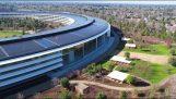 Parc d'apple: nouveau siège d'Apple à Cupertino, en Californie