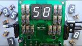 Una pantalla de mecánica rápida