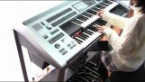 The music of Star Wars on Electone