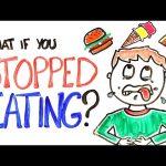 Τι θα γινόταν αν σταματούσαμε να τρώμε;