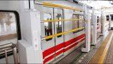 Αυτόματα προστατευτικά κιγκλιδώματα στους σταθμούς των τρένων