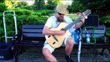 """Ο """"Τελευτάιος των Μοϊκανών"""" στην κιθάρα"""
