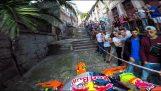 Αγώνας Enduro στα σοκάκια της Πορτογαλίας