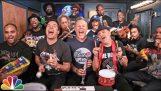 """Οι Metallica τραγουδούν το """"Enter Sandman"""" με παιδικά μουσικά όργανα"""