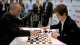 Μια πολύ γρήγορη παρτίδα σκακιού