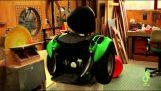 Έφτιαξε μια επαναστατική αναπηρική καρέκλα για τον καλύτερό του φίλο