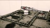 """Οικοδομικός τρισδιάστατος εκτυπωτής """"τυπώνει"""" ένα κτίριο"""