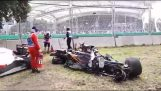 The major accident of Fernando Alonso