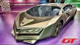 The Qatar unveils his supercar
