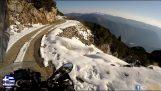 Reisen Sie mit Motorrädern in Griechenland