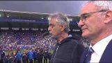"""Ο Andrea Bocelli τραγουδά το """"Nessun Dorma"""" στο γήπεδο της Λέστερ"""