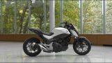 Den Honda Motorcykel som balanserar själv