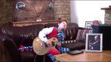 Αφιέρωμα στον BB King, από έναν κιθαρίστα 10 ετών