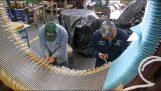 Η περιέλιξη και επισκευή ενός τεράστιου μοτέρ