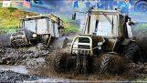 course de tracteurs