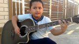 """Ένας 7χρονος ερμηνεύει το """"Nothing Else Matters"""""""