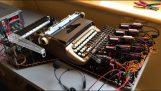 Пишеща машина с разпознаване на реч