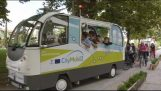 Trikala: On the streets the first bus without driver