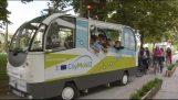 Τρίκαλα: Στους δρόμους το πρώτο λεωφορείο χωρίς οδηγό
