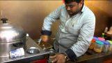 Πουλώντας καλαμπόκι με ρυθμό