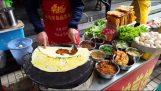 Chińskie jedzenie na drodze