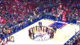 Ποντιακοί χοροί σε αγώνα του NBA