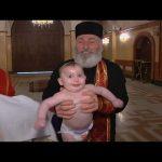 Baptême de bébé en Géorgie