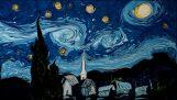 Δύο διάσημοι πίνακες του Βαν Γκογκ στην επιφάνεια του νερού